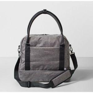 Made By Design Gray Weekender Duffel Bag, NWOT